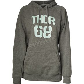 Thor Womens Gray Team Pullover Hooded Sweatshirt - 3051-0995