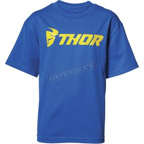 Thor Boys Royal Loud Tee Shirt - 3032-2608