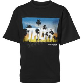 Thor Boys Black San Diego Tee Shirt - 3032-2614