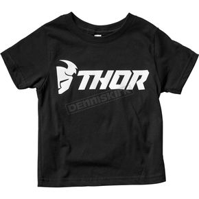 Thor Toddler Black Loud Tee Shirt  - 3032-2632