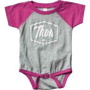 Thor Infant Pink Script One-Piece Supermini - 3032-2685