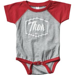Thor Infant Red Script One-Piece Supermini - 3032-2687