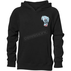 Thor Boys Black Wide Open Pullover Hooded Sweatshirt - 3052-0427