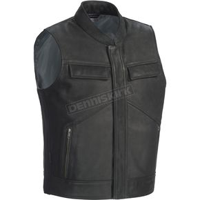 Tour Master Renegade Leather Vest - 8741-0105-03