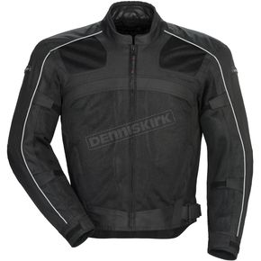 Tour Master Black Draft Air Series 3 Jacket - 8751-0305-07