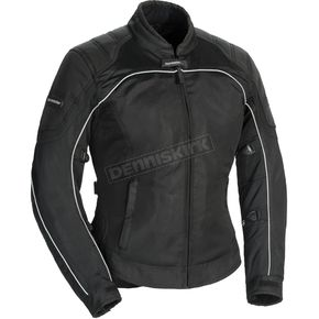 Tour Master Women's Black Intake Air 4.0 Jacket - 8767-0405-73