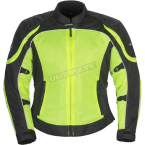 Tour Master Women's Hi-Viz/Black Intake Air 4.0 Jacket - 8767-0413-76