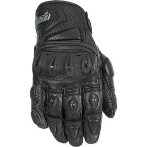 Cortech Black Impulse ST Gloves - 8306-0105-08