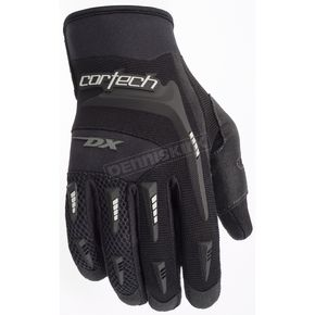 Cortech Women's Black DX 2 Gloves - 8313-0105-74