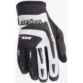 Cortech Youth White DX 2 Gloves - 8313-0109-55