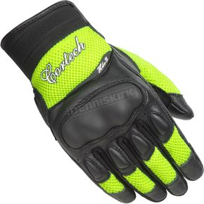 Cortech Women's Black/Hi-Viz HDX 3 Gloves - 8330-0313-75