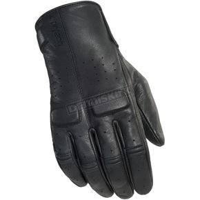 Cortech Rustic Black Heckler Gloves - 8335-0125-05