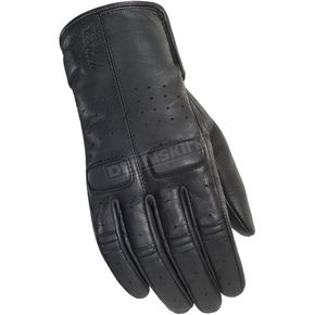 Cortech Women's Rustic Black Heckler Gloves - 8335-0125-74