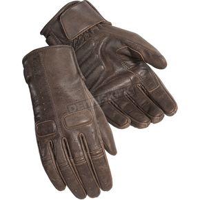 Cortech Women's Cafe Brown Heckler Gloves - 8335-0140-76