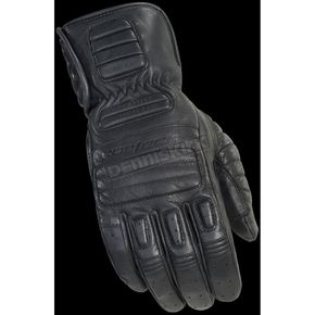 Cortech Rustic Black Roughneck Gloves - 8337-0125-06