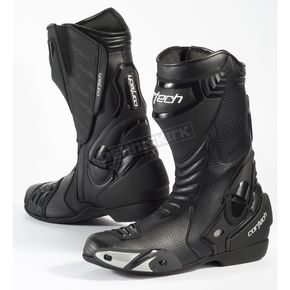 Cortech Black Latigo Air Road Race Boots - 8591-0105-48
