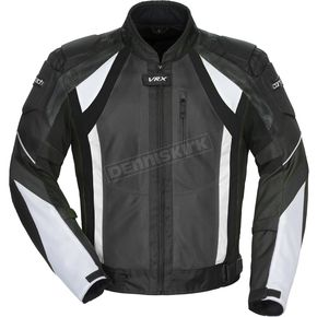Cortech Gun/Black/White VRX Air Jacket - 8951-0117-07