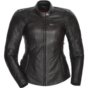 Cortech Women's Black Bella Leather Jacket - 8966-0105-74