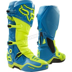 Fox Teal Moth Limited Edition Instinct Boots - 17776-176-11