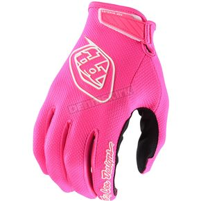 Troy Lee Designs Fluorescent Pink Air Gloves - 404503003