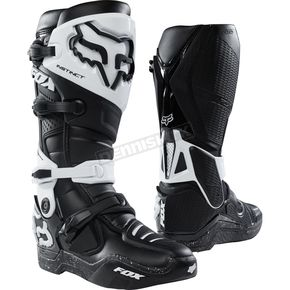 Fox Black/Black Instinct Boots - 12252-021-11