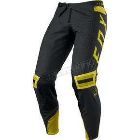 Fox Dark Yellow Flexair Preest Pants - 19415-547-32