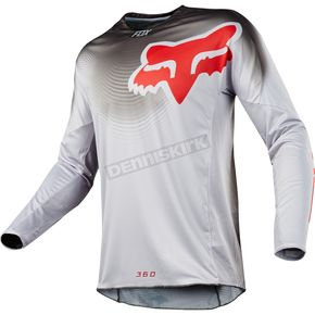 Fox Gray 360 Viza Jersey - 19420-006-XL