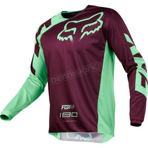 Fox Green 180 Race Jersey - 19426-004-XL