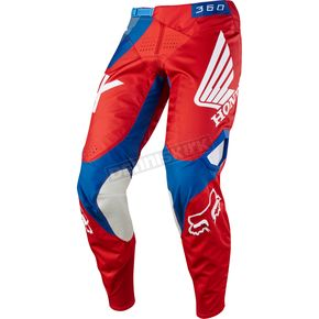 Fox Red 360 Honda Pants - 19425-003-36