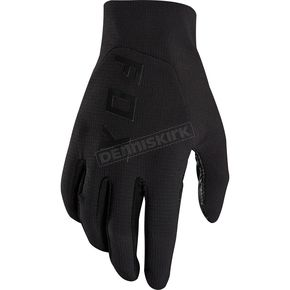 Fox Black Flexair Preest Gloves - 19515-001-S