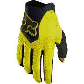 Fox Dark Yellow Pawtector Gloves - 17286-547-XL