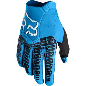 Fox Blue Pawtector Gloves - 17286-002-L