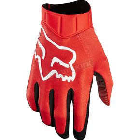 Fox Red Airline Race Gloves - 20489-003-2X