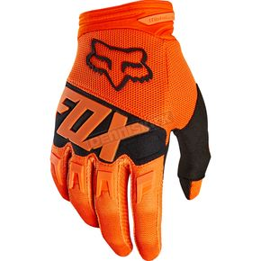 Fox Orange Dirtpaw Race Gloves - 19503-009-L