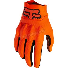 Fox Orange Bomber Light Gloves - 20108-009-L