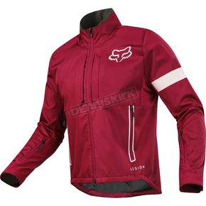 Fox Dark Red Legion Offroad Jacket - 17678-208-XL
