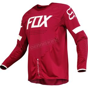 Fox Dark Red Legion Offroad Jersey - 17675-208-XL
