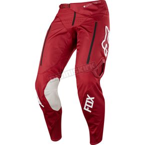 Fox Dark Red Legion Offroad Pants - 17676-208-34