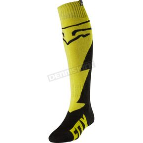 Fox Yellow Fri Thick Mastar Socks - 20000-005-M