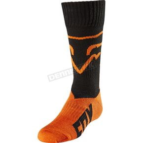 Fox Youth Orange MX Socks - 20029-009-L