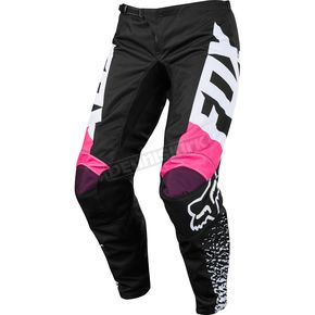Fox Youth Girl's Black/Pink 180 Pants - 19451-285-24