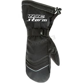 HJC Black Storm Mitts - 1228-066