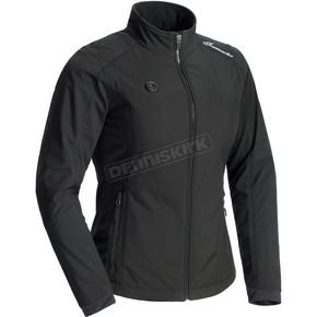 Women's Black Synergy 7.4-Volt Battery Powered Heated Jacket