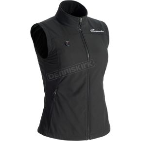 Women's Black Synergy 7.4-Volt Battery Powered Heated Vest