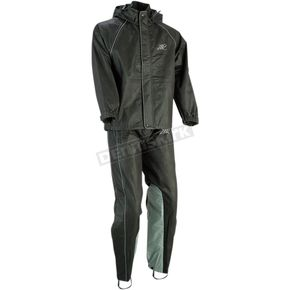 Women's Black Rainsuit