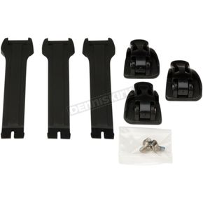 Youth Black  M1.3 Long Strap and Buckle Kit - 3430-0843