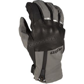 Gray/Black Vanguard GTX Short Gloves