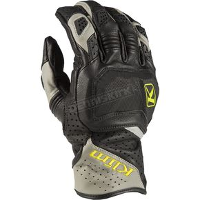 Black/Gray Badland Aero Pro Short Gloves