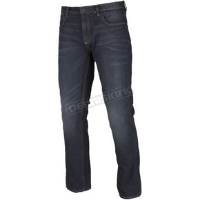 Stealth Blue K Fifty 2 Straight Riding Jeans