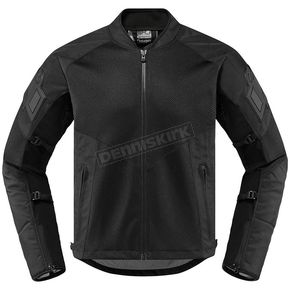 Black Mesh Attach Fit CE Jacket